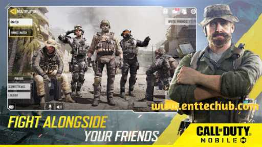 Fight Alongside With Friends In Call of Duty mobile