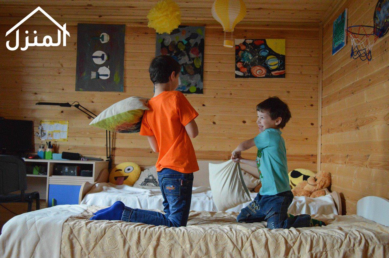 أفكار جميلة لديكورات غرف نوم أطفال