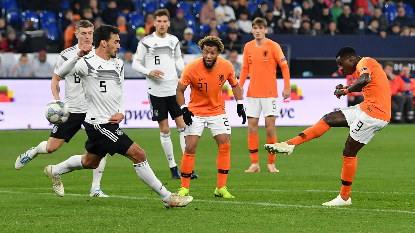 نتيجة مباراة هولندا وإستونيا الشمالية اليوم الإثنين 09/09/2019 التصفيات المؤهلة ليورو 2020