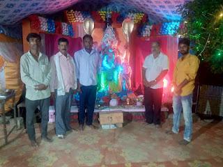 परशुरामपुर में स्थापित गणपति बाप्पा का दर्शन कर रहे हैं भक्त | #NayaSaberaNetwork