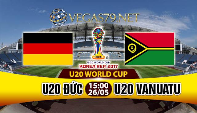 Nhận định, soi kèo nhà cái U20 Đức vs U20 Vanuatu