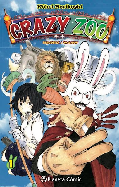 Review de Crazy Zoo (Oumagadoki Dobutsen) de Kohei Horikoshi, Planeta Cómic