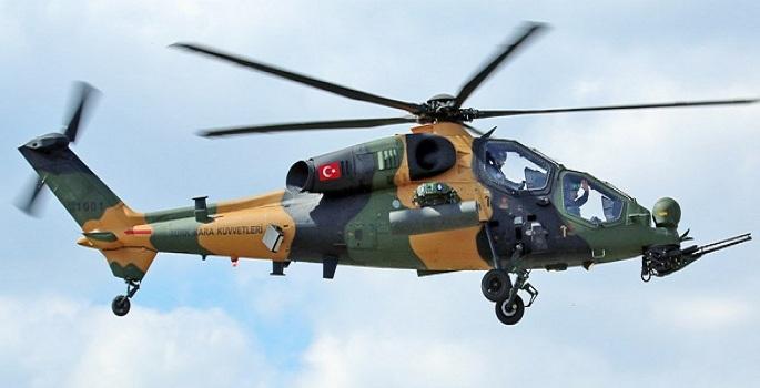 Για πρώτη φορά τούρκικα ελικόπτερα Τ129 παρευλαύνουν στην κατεχόμενη Κύπρο