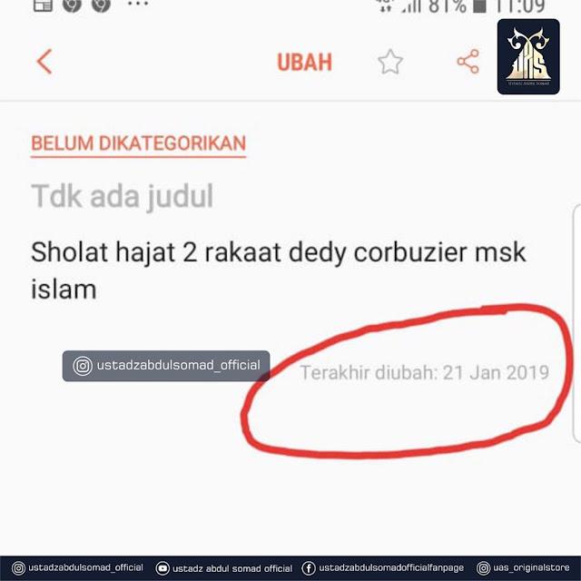 Deddy Corbuzier UAS