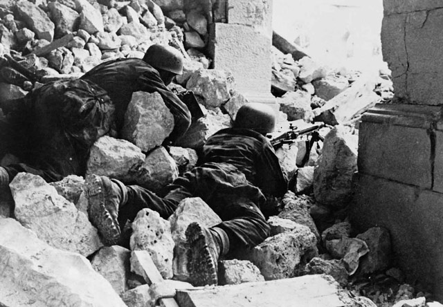 German troops at Monte Cassino worldwartwo.filminspector.com