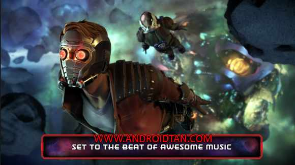 Guardians of the Galaxy TTG Mod Apk Data for Android