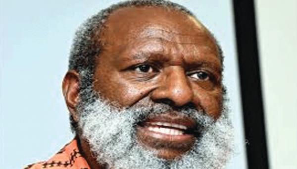 Papua New Guinea PETROLEUM Minister Kerenga Kua