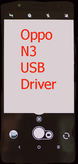 Oppo N3 USB Driver Download
