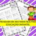 Atividade de matemática para educação infantil