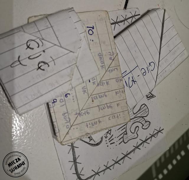 Surat - surat Yang Tertinggal