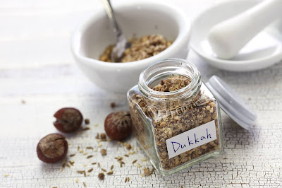 International food blog: INTERNATIONAL:  Egyptian Dukkah Recipe from The Me...