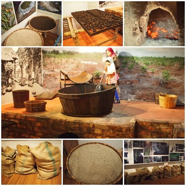 Muzium Warisan Tionghua - Pemprosesan Lada Hitam