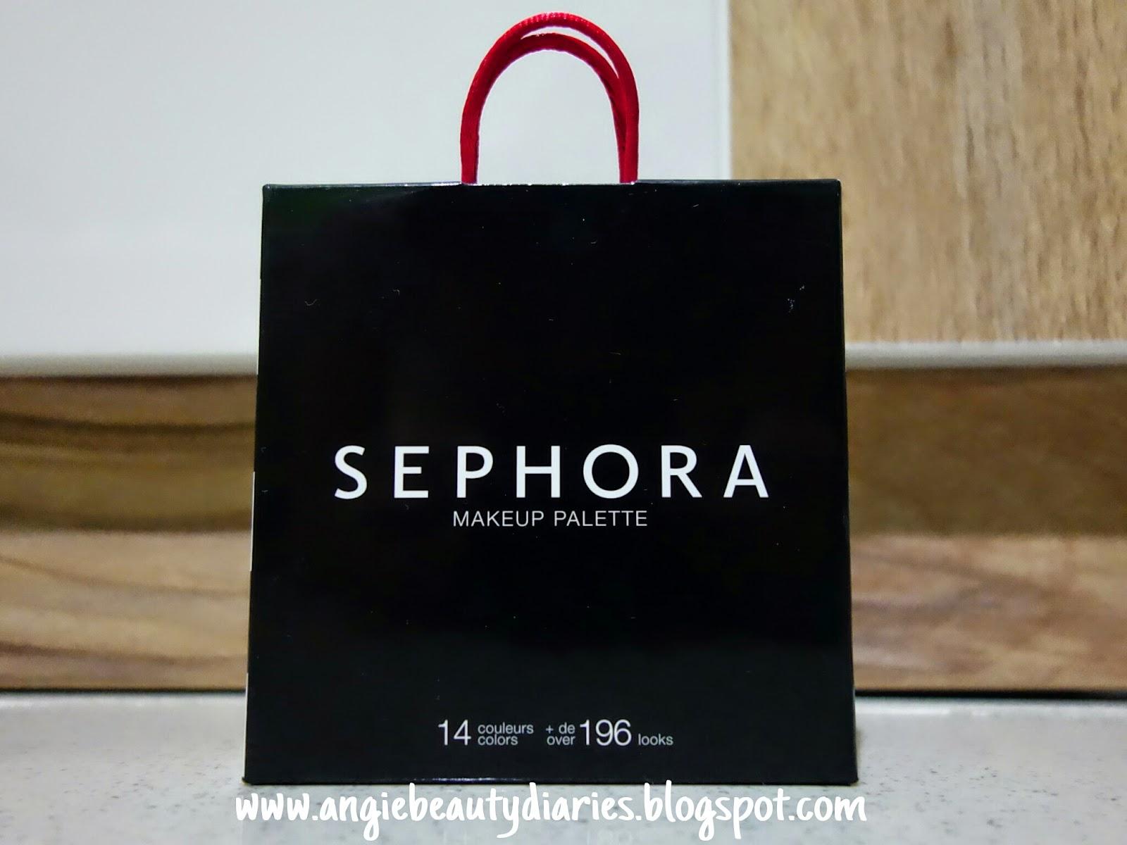Angie Beauty Diaries: (REVIEW) Sephora Mini Bag MakeUp ...