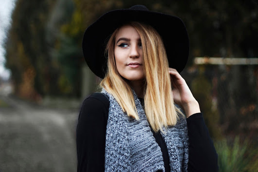 Grey and black | Gabriela Kugla Fashion Blog