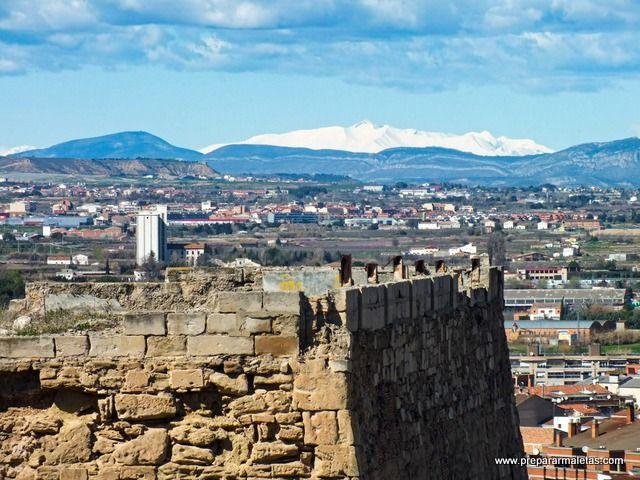 murallas defensivas y baluartes de Lleida
