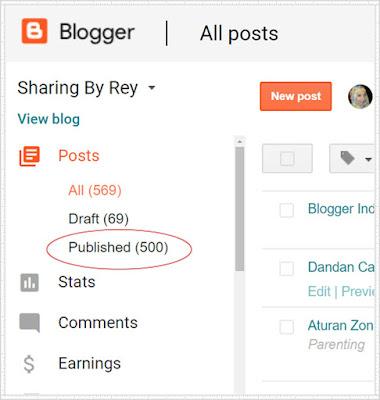 menulis blog setiap hari