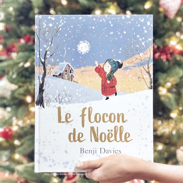 Album jeunesse de Noël : Le flocon de Noëlle