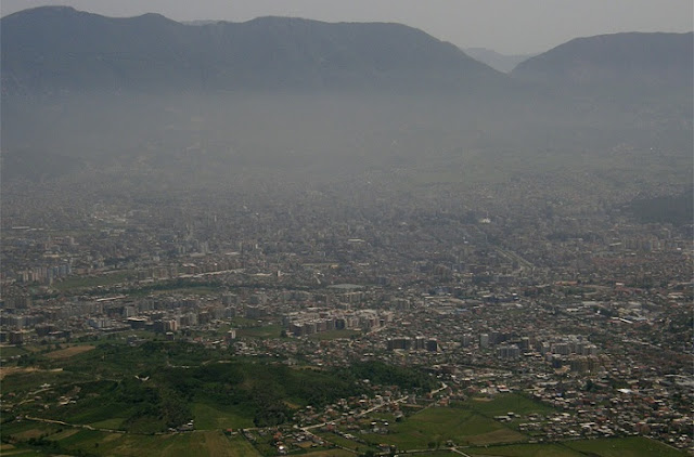 Dust particles level in Tirana is 56% higher than EU average