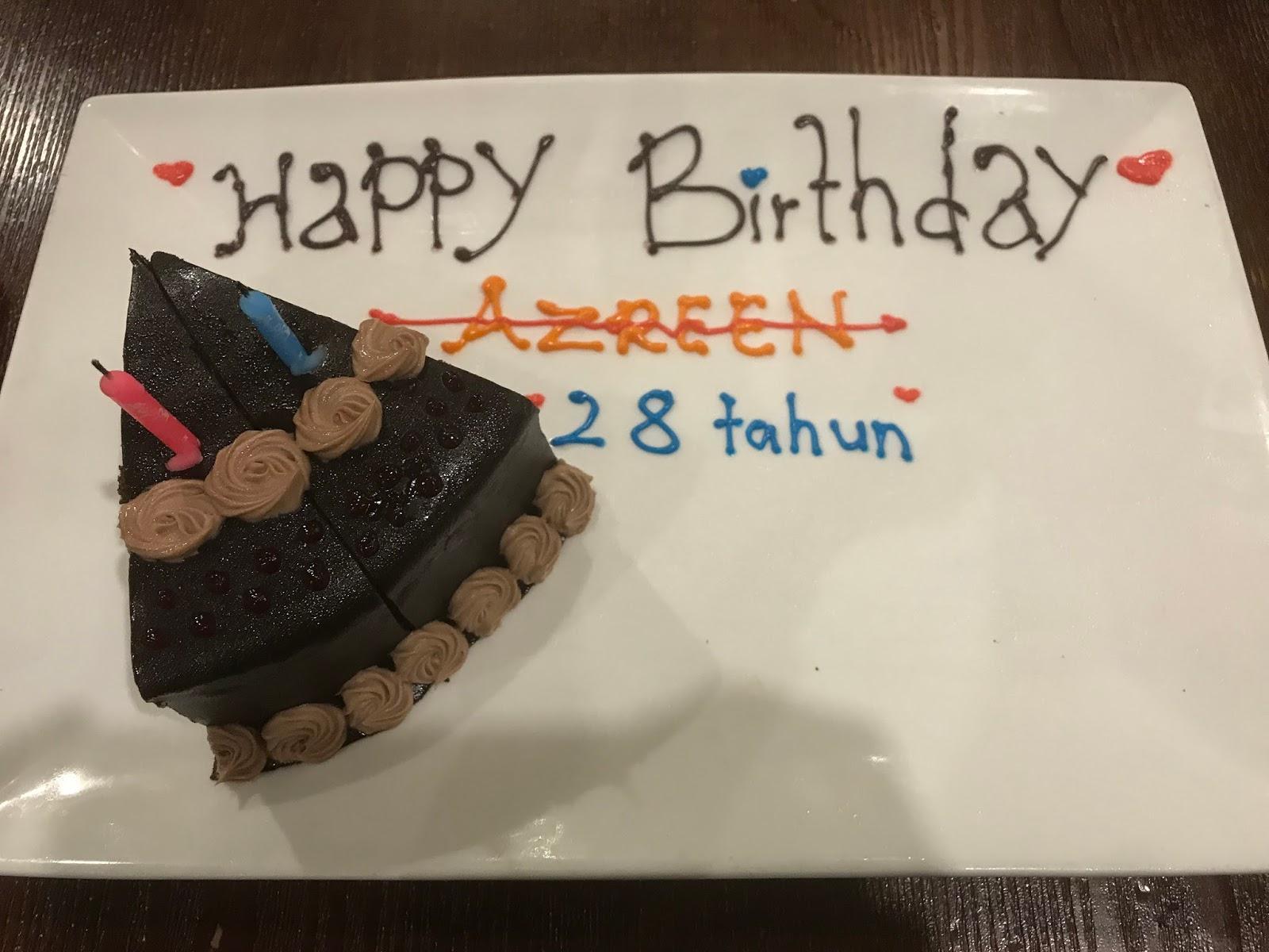 Sambut Birthday di Me'nate Steak Hub memang Meriah!