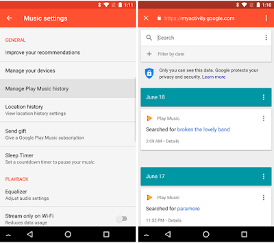 Google Play Music v7.9 APK To Download with New Search History and Notification Channels