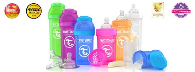 Nie taka zwyczajna butelka - TwistShake