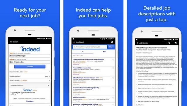 افضل تطبيق للبحث عن وظائف للاندرويد