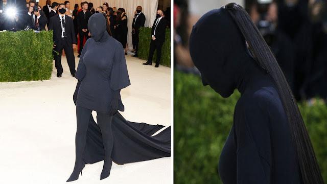 Kim Kardashian met gala 2021  كيم كارداشيان