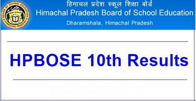 HPBOSE 10th Result 2020