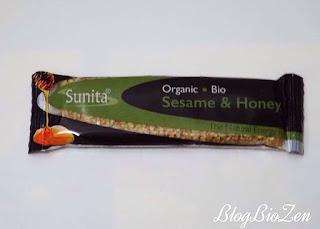Barre sésame & miel bio - Sunita