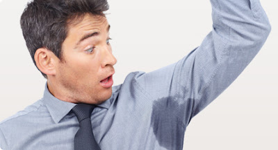 Excessive sweating disorder graphic