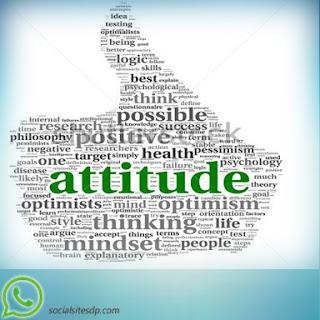 Whatsapp DP Attitude image