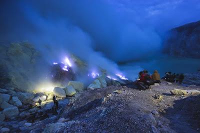 Kawa Ijen Lake, Indonesia