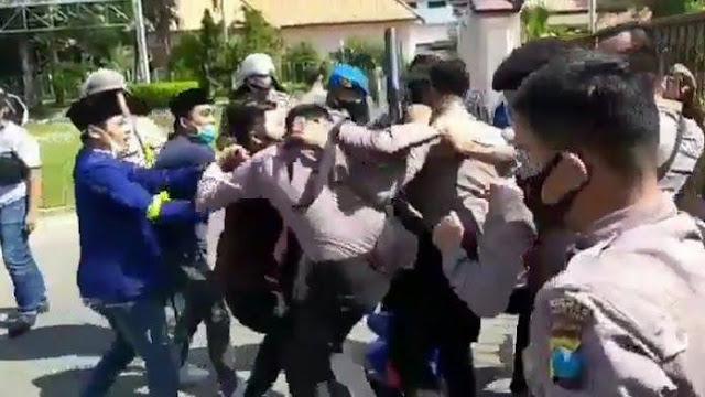 Polisi Gagal Temukan Aparat Pemukul Wartawan CNN Indonesia