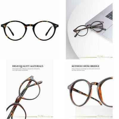 TIJN Blue-Light Blocking Vintage Glasses