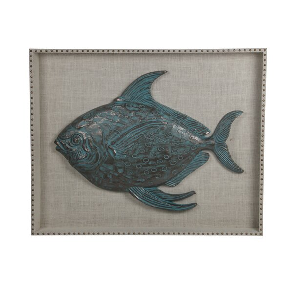 Resin Fish Wooden Wall Decor