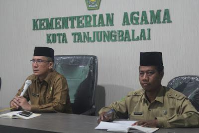 Kakankemenag Tanjungbalai Pimpin Rapat Koordinasi