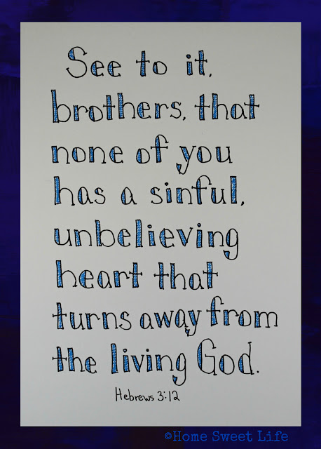 Scripture Writing, hand lettering, Bible verses