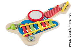 Chitarra bambini 6in1 strumento musicale Lidl