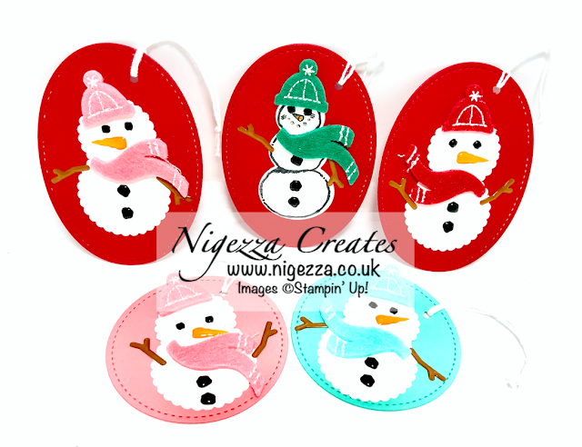 Nigezza Creates With Stampin' Up! Snowman Season