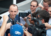 Robert Kubica Williams F1 Formuła 1