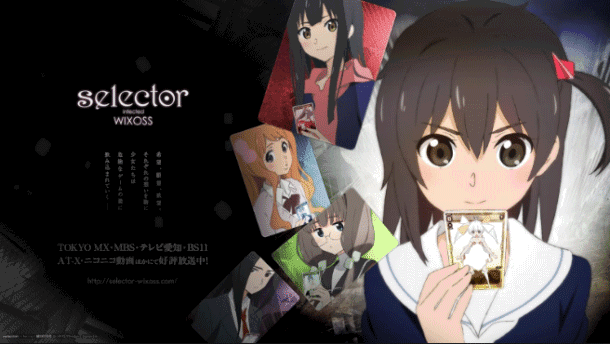 Selector Infected WIXOSS - Best J.C.Staff Anime list