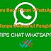 4 Metode Sederhana untuk Membaca Pesan WhatsApp Pesan Tanpa Diketahui Pengirim
