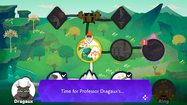Ring Fit Adventure Professor Dragaux Bridge of Insight Extra Fitness World 26