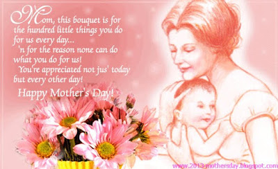 Happy Birthday wishes quotes for son and: mom this bouquet is do the hundred little thing you do for us every day.