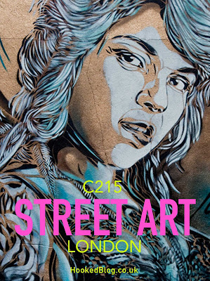 London Street Art mural spray-painted by French artist C215 in Shoreditch. #streetart #Murals #Hookedblog