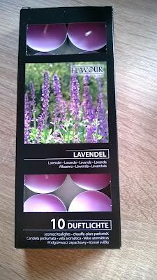 Teekerzen mit Lavendel Duft