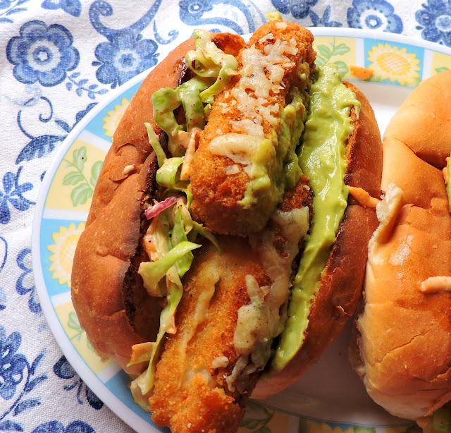 Ultimate Fish Finger Sandwich