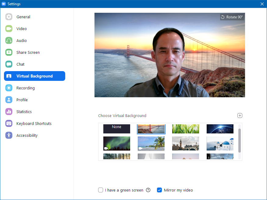 Zoom Virtual Background - PCTOWN (REMOTE IT SERVICE)