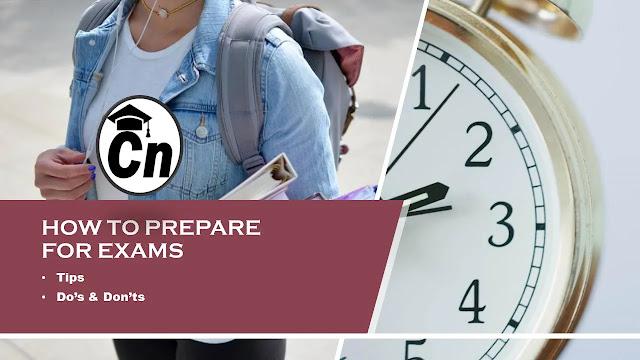 How To Prepare For Exams, Tips, Do's & Don'ts, Careerneeti Logo