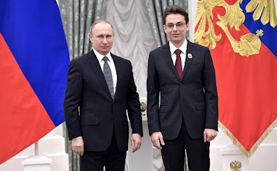 Vladimir Putin, Stanislav Poslavsky.